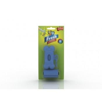 Mr.Fresh / М.Фреш Пакеты для уборки фекалий с брелоком-держателем 40 пакетов