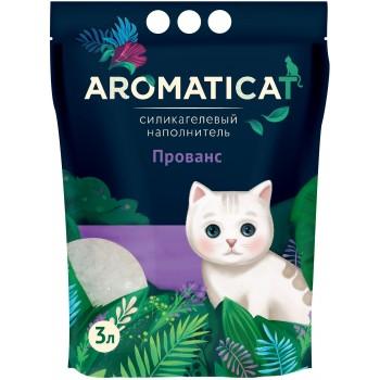 """AromatiCat / АроматиКэт Силикагелевый наполнитель """"AromatiCat"""" 3л. Прованс"""