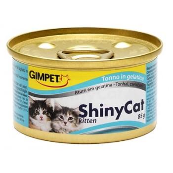 Gimpet / Гимпет Консервы ShinyCat kitten с тунцом д/котят, 85 г