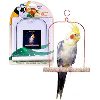 Penn-Plax / Пен-Плакс Игрушка для птиц Качели для птиц 17,5см цемент (1х12) BA222