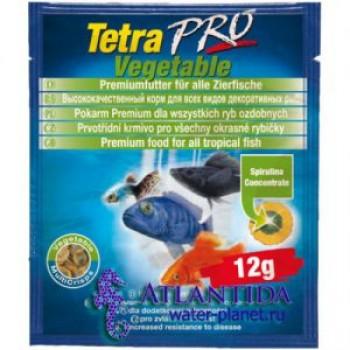 TetraPro / Тетра Algae Crisps раст.корм для всех видов рыб в чипсах 12 г (sachet)