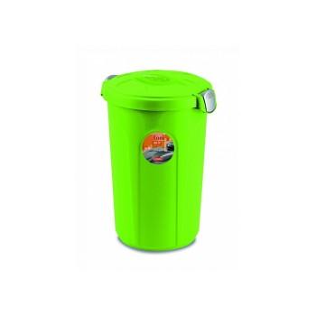 Stefanplast / Стефанпласт Контейнер Tom для 16кг корма, 45*40*61см, ярко зеленый (70507)