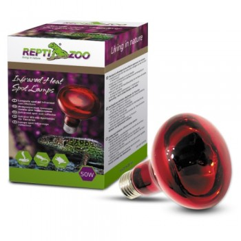 Repti-Zoo / Репти-Зоо R63050 Лампа инфракрасная REPTI INFRARED UV 50w