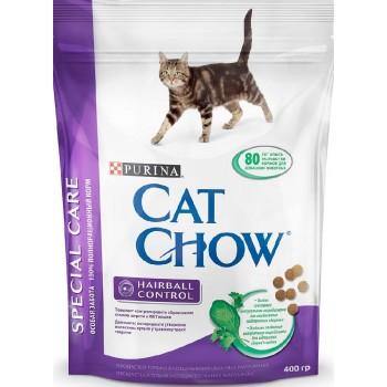 """Cat Chow / Кэт Чоу """"Special Care"""" сухой 400 гр для кошек Контроль шерсти"""