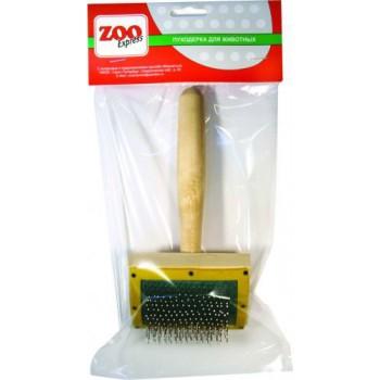 ZOOexpress Пуходерка К деревян. с каплей для собак (1х80) 23032