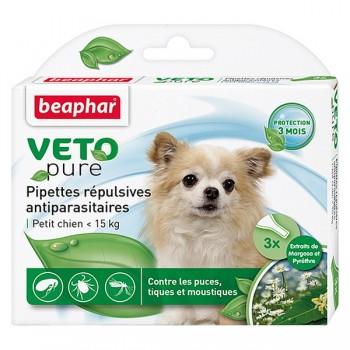 Beaphar / Беафар Капли «Био» от блох и клещей д/собак мелких пород, 3 пипетки