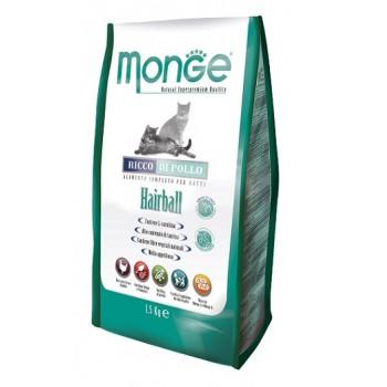 Monge / Монж Cat Hairball корм для кошек для выведения шерсти 1,5 кг