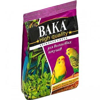 Вака High Quality корм для волнистых попугаев 500г [54221]