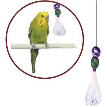 Penn-Plax / Пен-Плакс Игрушка для птиц Кисточка с бубенчиками малая (1х12) ВА523