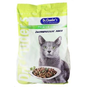 Dr.Clauder's / Др.Клаудер'c Корм сух.д/кошек Диетическое мясо 400гр