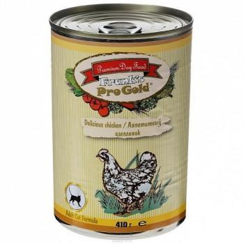 """Frank's ProGold / Франкс ПроГолд Консервы для кошек """"Аппетитный цыпленок"""" 0,41 кг"""