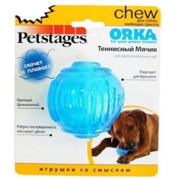 """Petstages / Петстейджес игрушка для собак """"ОРКА теннисный мяч"""" 6 см"""
