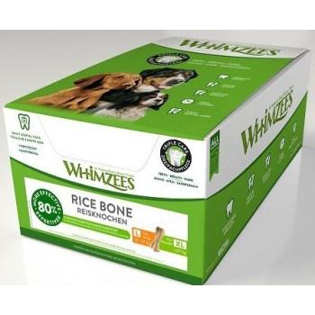 Whimzees / Вимзис дентальное лакомство Рисовая кость для собак L-XL 25 см 23 шт в дисплее