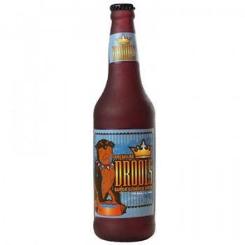"Silly Squeakers Виниловая игрушка-пищалка для собак Бутылка пива ""Слюнопускание"" (Beer Bottle Drools) SS-BB-DR"