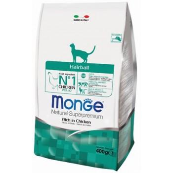 Monge / Монж Cat Hairball корм для кошек для выведения шерсти 400г