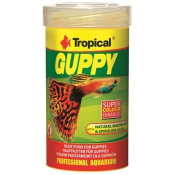Tropical / Тропикал 770535/85927 корм для гуппи (хлопья) Guppy 100 мл/20 гр