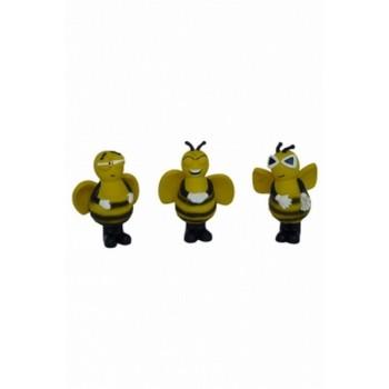 """Papillon / Папиллон Игрушка для собак """"Пчелка"""", 14-16см, латекс"""