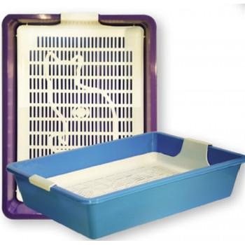 ZOOexpress КИС туалет глубокий для кошек 40.5х30х9 (1х15) 11090