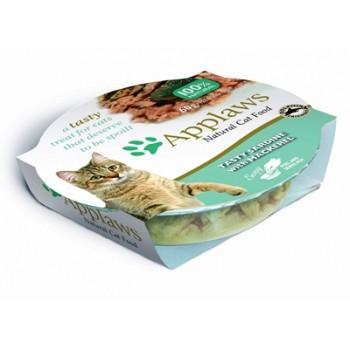 "Applaws / Эпплаус Консервы для кошек ""Лакомые Сардинки со Скумбрией"" 0,06 кг"