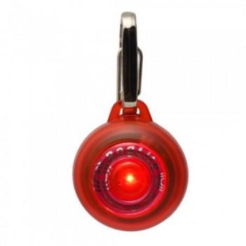Rogz / Рогз Светящаяся подвеска, красный (SAFETY LIGHT)