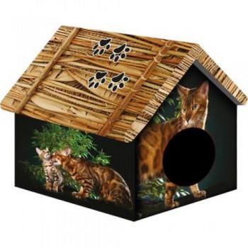PERSEILINE ДОМ ДИЗАЙН для животных 33*33*40 Бенгальский кот (31130/ДМД-1)