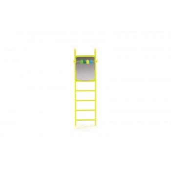 Beeztees / Бизтис 010340 Лесенка пластмассовая с зеркалом и счетами 20см