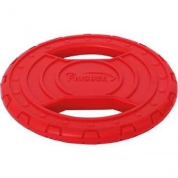 """Игрушка """"Грызлик Ам"""" Диск летающий Аmfibios Размер 20,5 см, Цвет Красный, Материал ТPR, без звука, плавает"""