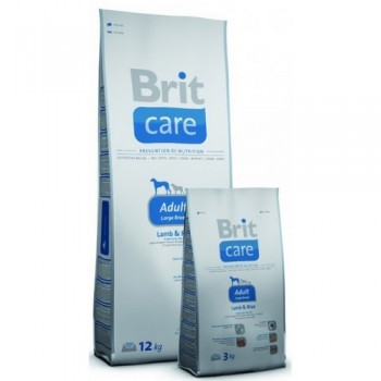 Brit / Брит Care Adult Large Breed д/взросл, собак крупн, пород, ягненок с рисом, 12 кг