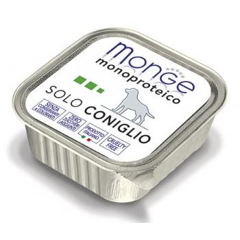 Monge / Монж Dog Monoproteico Solo консервы для собак паштет из кролика 150г