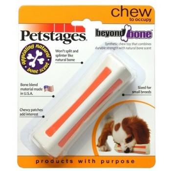 Petstages / Петстейджес игрушка для собак Beyond Bone, с ароматом косточки 11 см маленькая