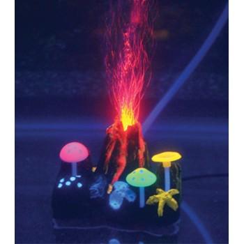 Jelly-Fish / Джелли-Фиш Вулкан подводный с неоновым эффектом, 9*7*6,5 см
