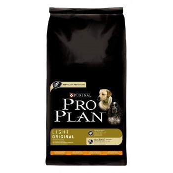"""Pro Plan / Про План """"Light Original"""" сухой для собак низкокалорийный Курица с Рисом 14 кг"""