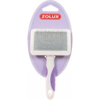 Zolux / Золюкс Пуходерка пластиковая для кошек средняя, M