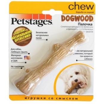 Petstages / Петстейджес игрушка для собак Dogwood палочка деревянная 16 см малая