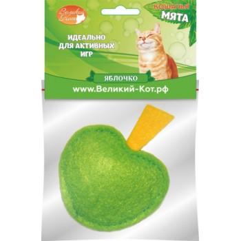 Великий Кот Игрушка д/кошек Яблочко с кошачьей мятой 5см (GC355)