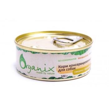 Organix / Органикс Консервы для собак говядина с бараниной, 100 гр