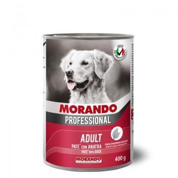Morando / Морандо Professional консервированный корм для собак паштет с уткой, 400г, жб