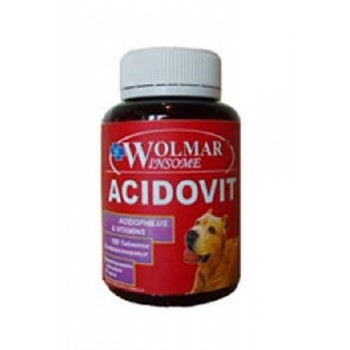 Волмар Winsome 391 Acidovit Ацидофильный комплекс с витаминами д/собак 180 таб