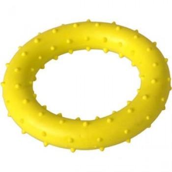 """Игрушка """"Грызлик Ам"""" Кольцо с шипами 8 см, желтое"""