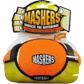 """R2P игрушка для собак Masher """"Мячик"""" 13 см вспененная резина с покрытием теннисного мяча"""