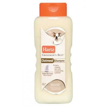 Hartz / Хартц Groomer's Best Oatmeal Shampoo Шампунь с овсом для собак 532мл