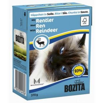 Bozita / Бозита кон.д/кошек Кусочки в соусе с Оленем 370гр