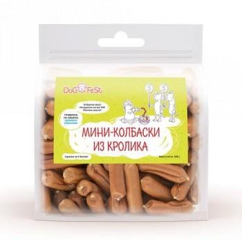 Dog Fest / Дог Фест Мини-колбаски из кролика 500 гр