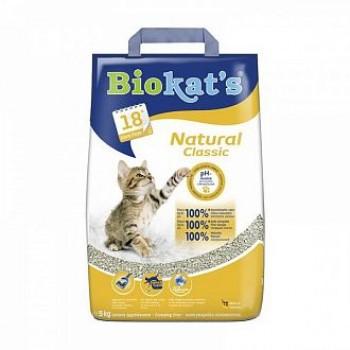 """Biokat's / БиоКэтс наполнитель """"Биокатс Натурал 3 в 1"""" д/туалета д/кошек, 5 кг"""