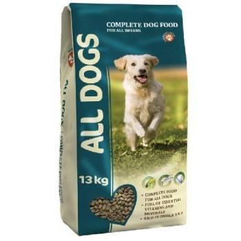 All Dogs / Олл Догс д/соб. взрослых пм, 13 кг