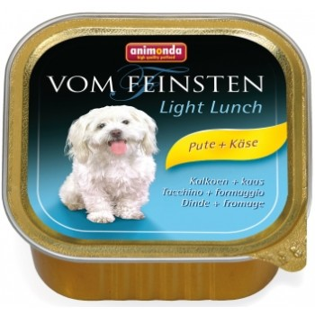 Animonda Vom Feinsten Light Lunch конс. 150 гр. облегченное меню индейка / сыр для собак (ламистер) 82970 (82618)