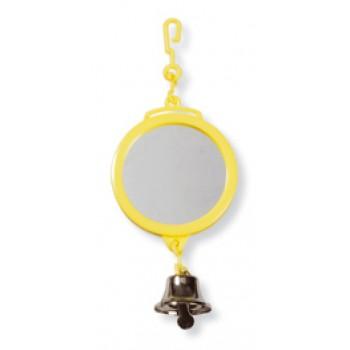 Hagen / Хаген двухстороннее зеркальце с колокольчиком, диам. 7,5 см