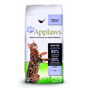 "Applaws / Эпплаус для кошек ""Курица и Утка/Овощи: 80/20%"" 2 кг"