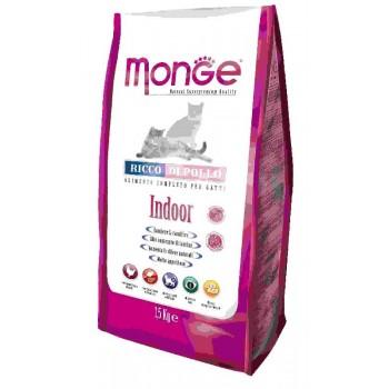 Monge / Монж Cat Indoor корм для домашних кошек 1,5 кг