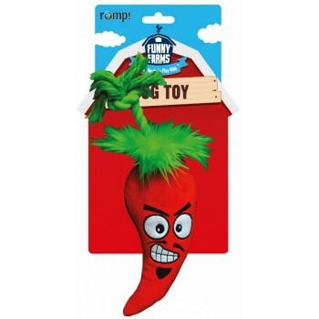 """R2P игрушка для собак Funny Farms """"Перчик Чили"""" малая текстиль 28 см"""
